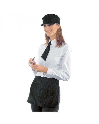 Grembiule Cameriere Pub Liverpool Nero in Poliestere Isacco