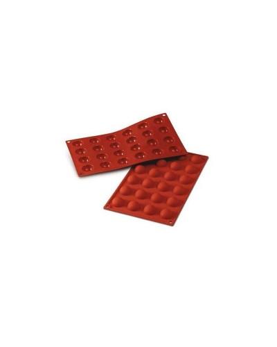 Stampo Silicone 24 Semisfere 30x15 mm Silikomart