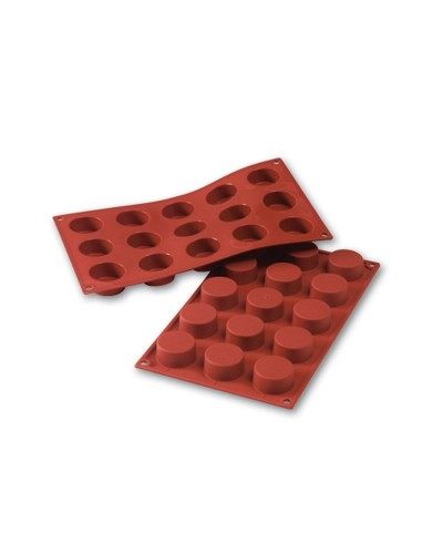 Stampo Silicone 15 Petite Four 40x20 mm Silikomart