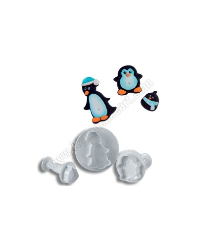 Kit 3 Stantuffi Pinguini Martellato