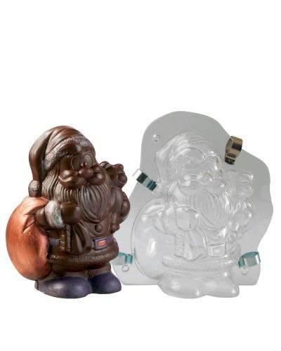 Stampo Cioccolato Babbo Natale 3D H. 16,8 cm Martellato