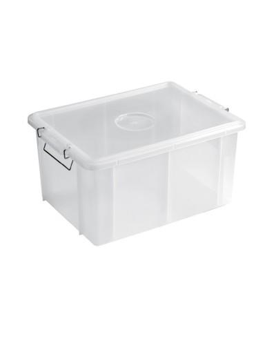 Cassetta Box Bianca 55x40x29 cm 50 lt