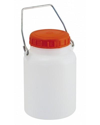 Bidone Collo Largo Contenitore Liquidi 10 Lt Mobil Plastic SSS