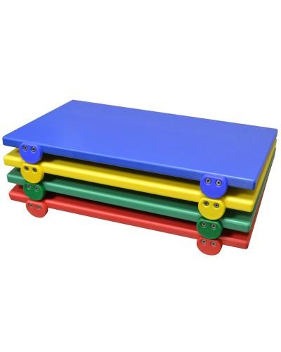 Tagliere Con Fermi 50x30x2 Colorato