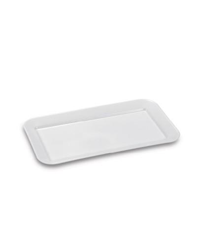 Piatto Salumeria Rettangolare Bianco 30x16 cm Giganplast