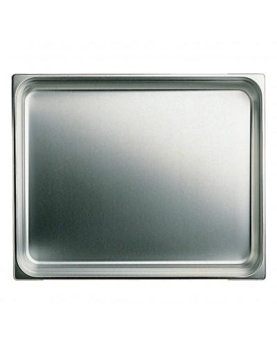 Bacinella Gastronorm GN 2/1 Acciaio 65x53 cm Altezze Varie