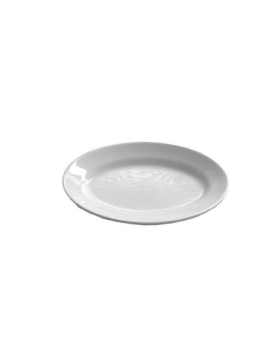 Piatto Ovale Nizza Bianco 27 cm