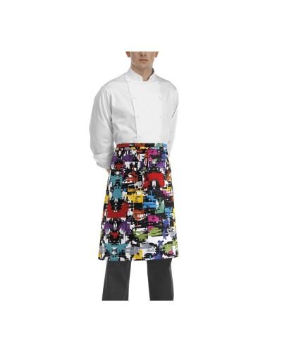 Grembiule Cuoco Vita Graphic Colorato Egochef