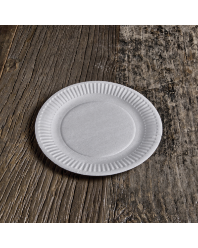 Plates Organic cardboard 18 cm 50 pcs