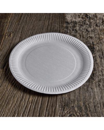 Plates Organic cardboard 23 cm 50 pcs