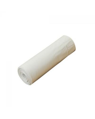 Sacchi Spazzatura Biodegradabili e Compostabili Bianchi 50x60 cm 10 pz
