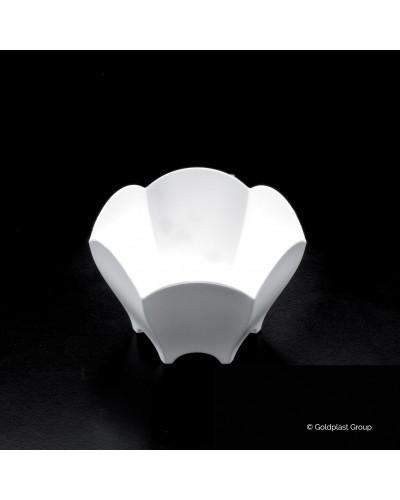 Coppetta Tulip Bianca 25 pz per Finger Food Gold Plast