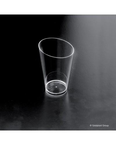 Bicchierino Conico Alto Trasparente 25 pz per Finger Food Gold Plast