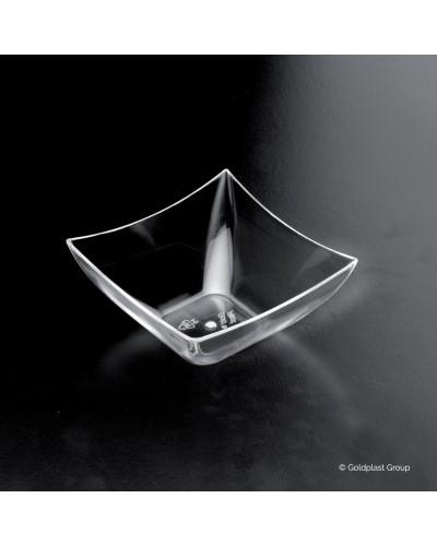 Coppetta Mini Quadrata Trasparente 25 pz