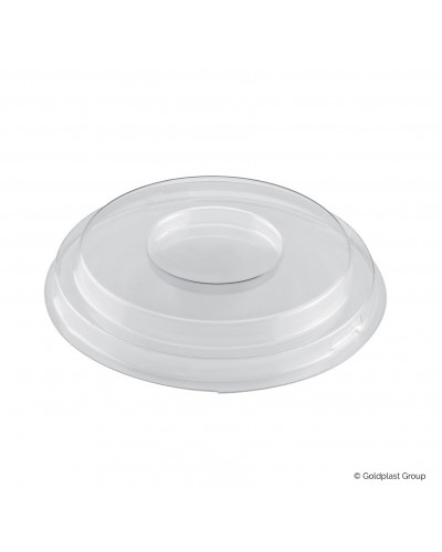 Coperchio per Coppetta Small Bowl Trasparente 12 pz per Finger Food Gold Plast