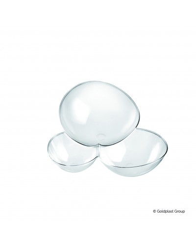 Coppetta Molecola Trasparente 100cc 25 pz per Finger Food Gold Plast