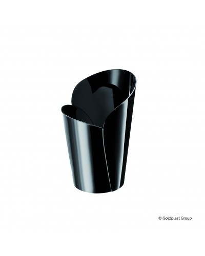 Bicchierino Blossom Nero 90cc 15 pz per Finger Food Gold Plast