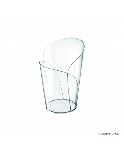Bicchierino Blossom Trasparente 90cc 15 pz per Finger Food Gold Plast