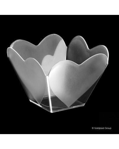Coppetta Cupido Trasparente 68cc 25 pz per Finger Food Gold Plast