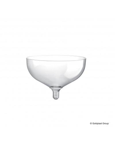 Coppa Champagne Monouso 205cc 20 pz Gold Plast