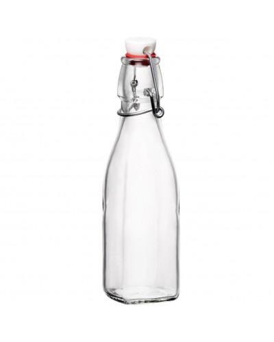Bottiglia Vetro Swing Quadrata 1 lt Bormioli