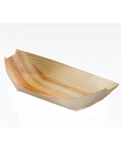 Pirogues Large Wood 17.5x8.5x2 cm 50 pcs