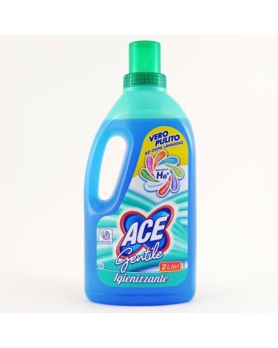 Ace Candeggina Gentile 2 lt Igienizzante e Sbiancante Biancheria