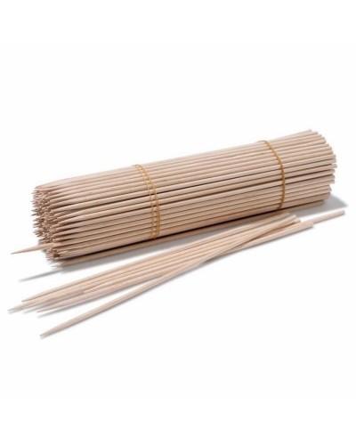 Stecconi Bamboo per Spiedini da 30 cm 1000 pz Dim. 3 mm