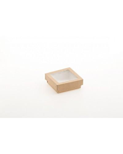 Scatola Food Box Con Finestra 18x18x5 cm 25pz Leone