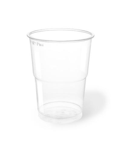 Bicchiere Bevande Pet Trasparente 300 cc per Birra 50 pz Aristea