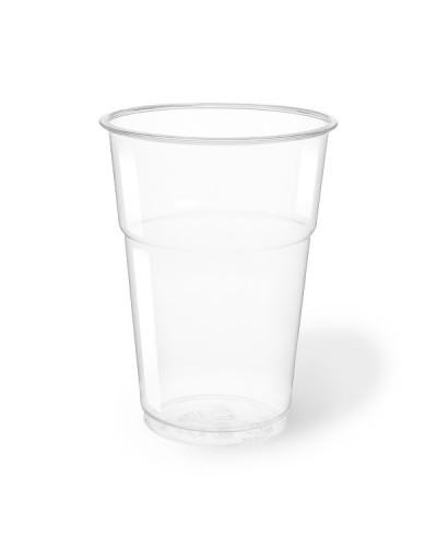 Bicchiere Bevande Pet Trasparente 400 cc per Birra 50 pz Aristea
