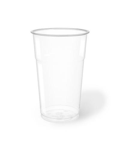 Bicchiere Bevande Pet Trasparente 500 cc per Birra 50 pz Aristea