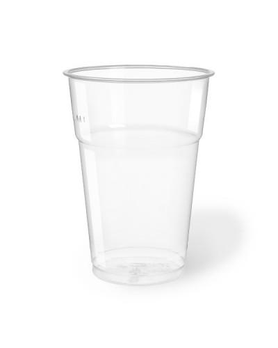 Bicchiere Bevande Pet Trasparente 575 cc per Birra 50 pz Aristea