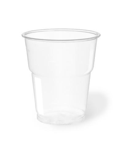 Bicchiere Bevande Pet Trasparente 250 cc per Birra 50 pz Aristea