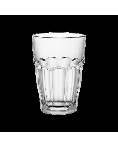 Set 6 Bicchieri Long Drink Rock Bar da 37 cl in Vetro Bormioli Rocco