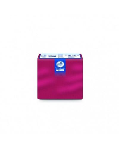 Tovaglioli Tissue Bordeaux 38x38 cm 40 pz Carind