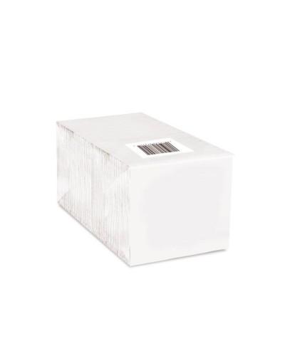 Tovagliolo Bianco Sfalzato 27x30 1V 400 pz Carind