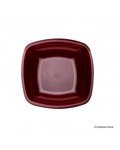 Piatti Fondi Square Quadrati da 25 pz Gold Plast