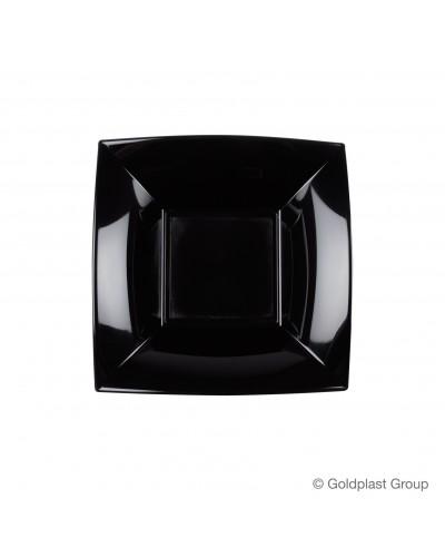 Piatti Fondi Nice Quadrati da 25 pz Gold Plast