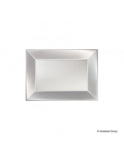 Vassoio Nice PP Bianco Perlè 6 pz
