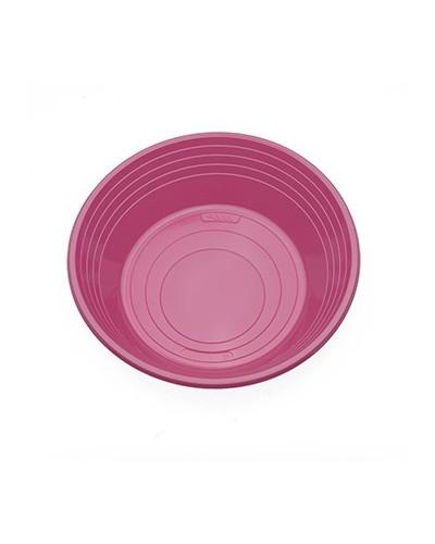 Piatti Fondi Mirò Colorati in Plastica da 25 Pz Ilip