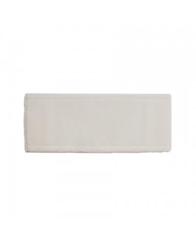 Ricambio Microfibra Snow 42x13 cm per Lavare o Spolverare