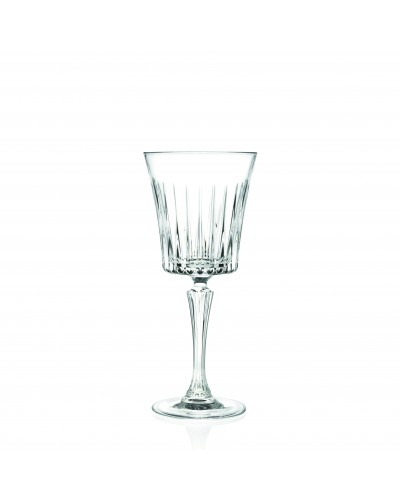 Set 6 Calici Vino Timeless da 22,7 cl in Vetro RCR Cristalleria