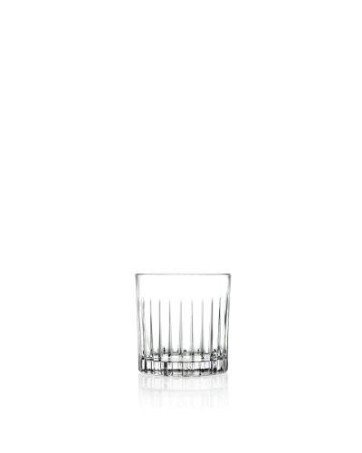 Set 6 Bicchieri Cocktail Timeless da 31 cl in Vetro Intagliato RCR Cristalleria