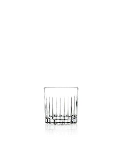 Set 6 Bicchieri Cocktail Timeless da 36 cl in Vetro Intagliato RCR Cristalleria