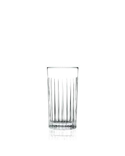 Set 6 Bicchieri Bibita Timeless da 44,3 cl in Vetro Intagliato RCR Cristalleria
