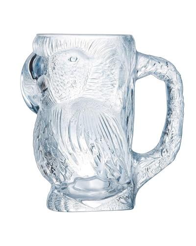 Bicchiere Birra Parrot 90 cl con Manico in Vetro Arcoroc