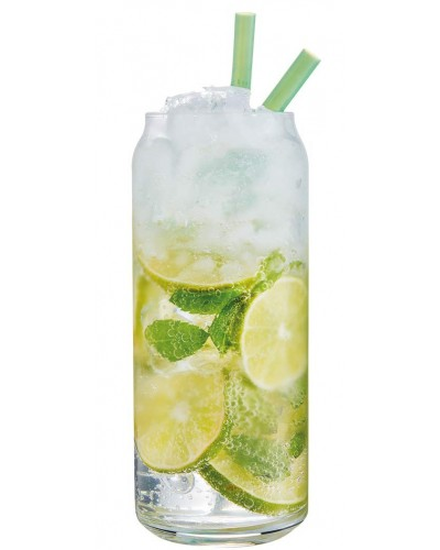 Set 6 Bicchieri Cocktail Plain Can Alto 47,5 cl in Vetro Arcoroc