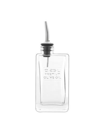 Bottiglia Optima per Olio 0,25 lt con Tappo Versatore