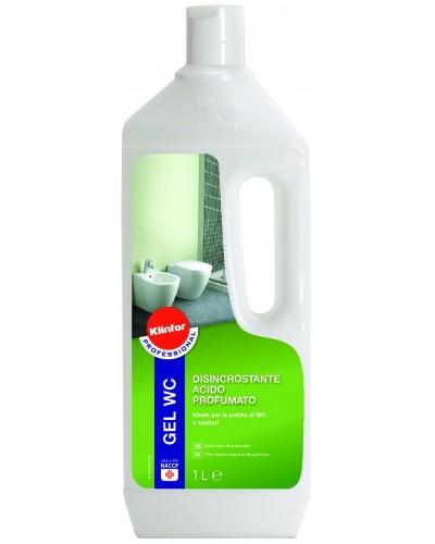 Detergente Disincrostante Bagno Gel WC da 1 Lt Klinfor